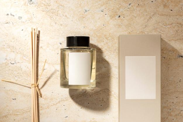 Conjunto difusor de óleo de decoração para casa