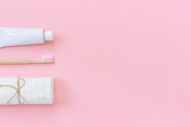 Conjunto para lavar e escovar os dentes