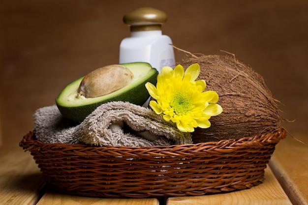 Conjunto para massagem ou cuidados com o corpo