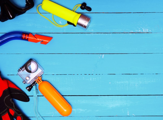 Conjunto para mergulho subaquático a profundidade