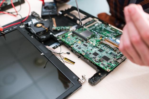 Conserto de serviço de conserto de computador para oficina de manutenção