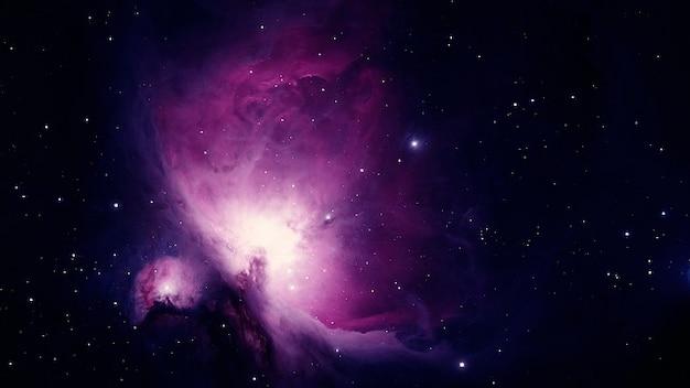 Constelação de emissão da nebulosa de orion