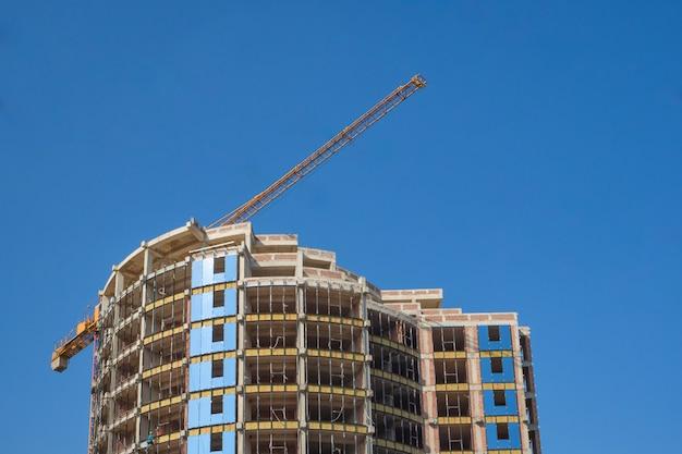 Construção de edifícios modernos