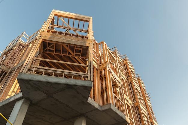 Construção de madeira