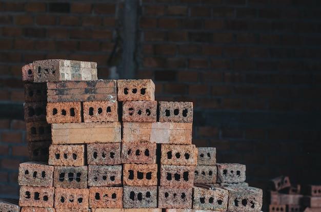 Construção de materiais de tijolo