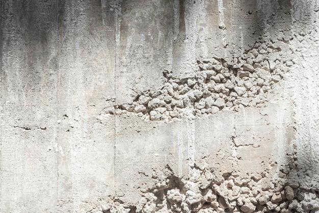 Construção de parede de concreto