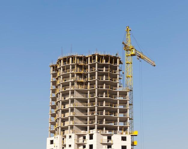 Construção de um novo prédio