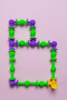 Construtor de otário como letra do alfabeto inglês