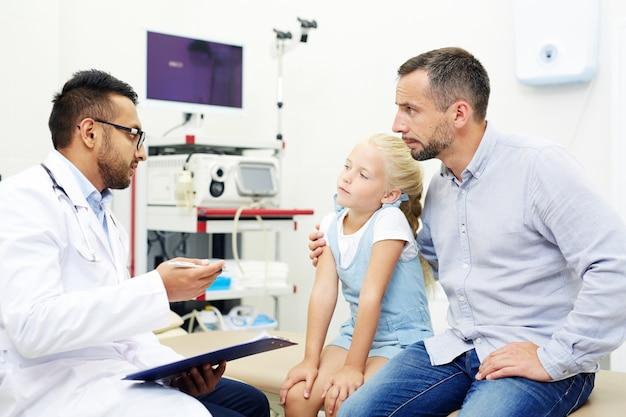 Consulta com médico