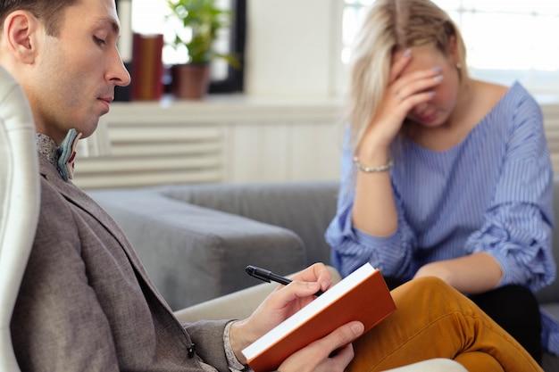 Consulta no psicólogo