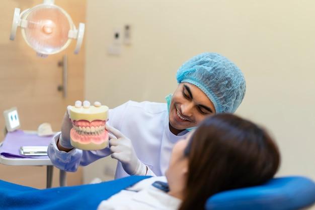 Consulte o dentista sobre ortodontia.