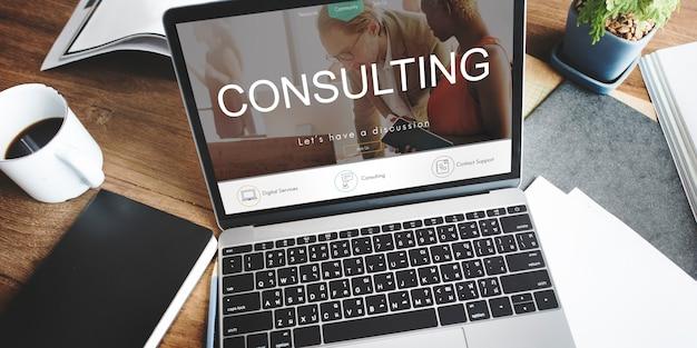Consultoria consultoria assessoria sugestão conceito de orientação
