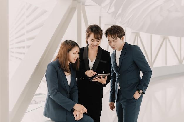 Consultoria de equipe de negócios