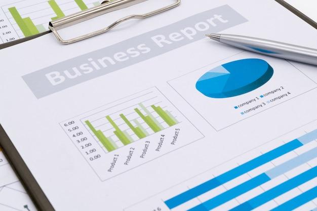 Contabilidade financeira, relatório de negócios