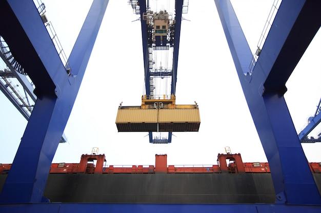 Container de elevação de guindaste