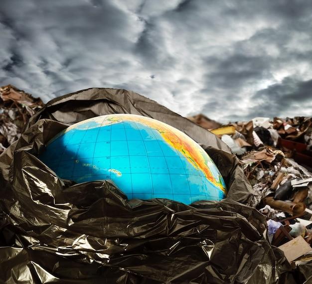 Contaminação da terra