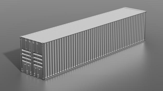 Contêiner de carga metálico para navio