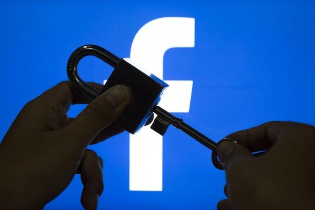 Conteúdo de segurança do facebook.