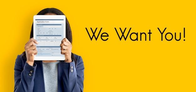 Contratação de emprego entrevista de equipe de vaga recrutamento de carreira