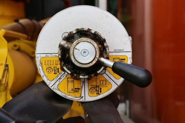 Controlador de engrenagem da máquina
