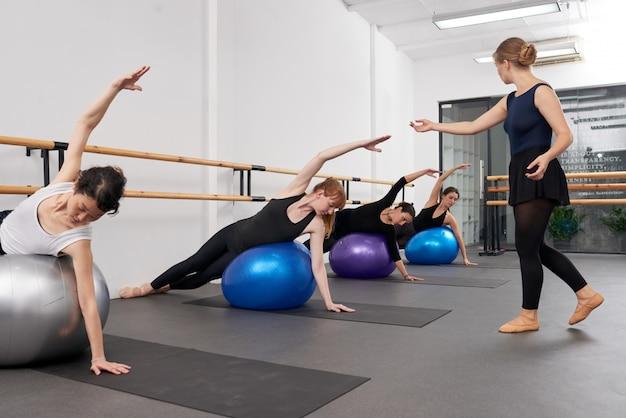 Controlando o desempenho do exercício