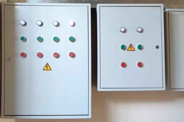 Controle o eletro-painel por luz, com os botões de partida e pés. para qualquer propósito.