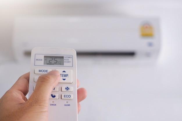 Controle remoto de ar condicionado