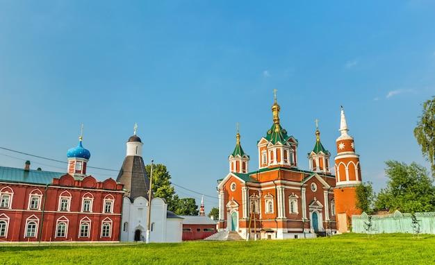 Convento da assunção de brusensky em kolomna, o anel de ouro da rússia