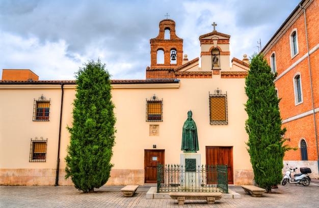 Convento de las clarisas de san diego em alcala de henares, perto de madrid, espanha
