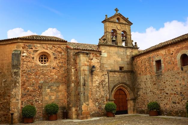 Convento de são paulo em cáceres na espanha extremadura