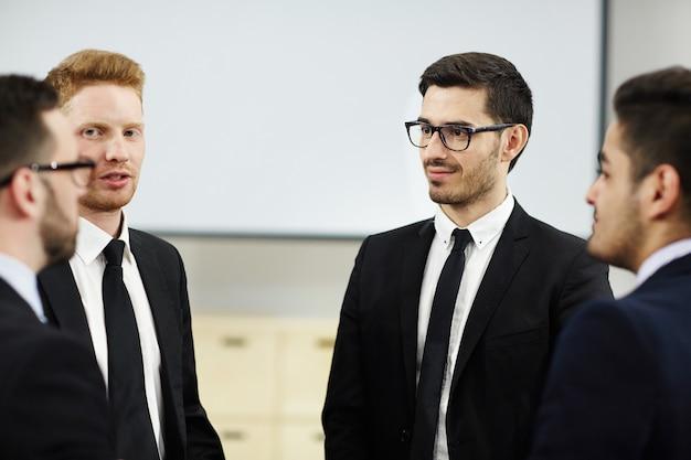 Conversa de líderes empresariais