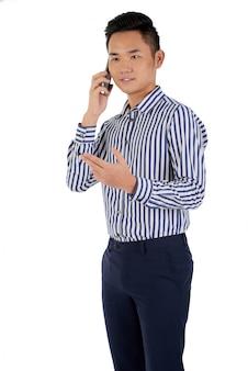 Conversa por telefone