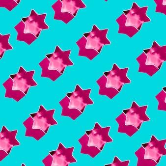 Cookie formas de estrelas