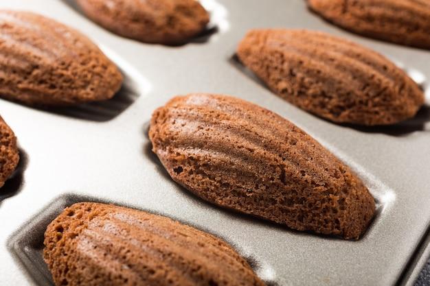 Cookies de chocolate madeleines