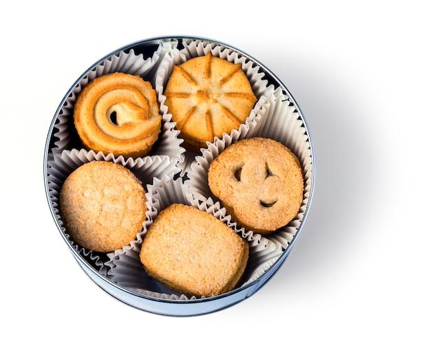 Cookies na caixa