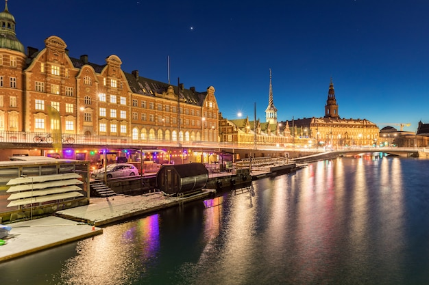 Copenhagen dinamarca noite
