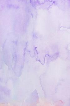 Cópia abstrata espaço violeta aquarelle fundo
