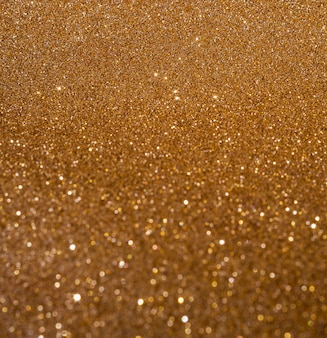 Cópia espaço brilhante turva fundo dourado