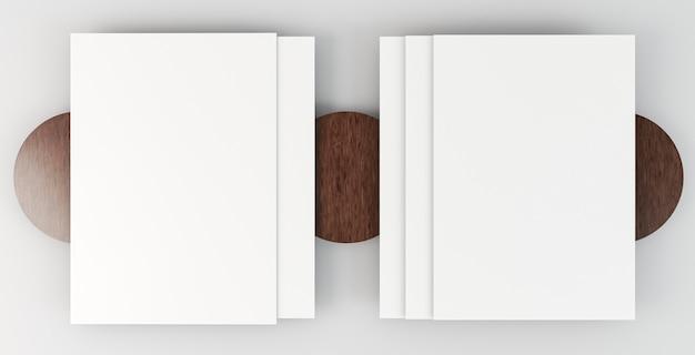 Copie documentos de papelaria espacial em camadas