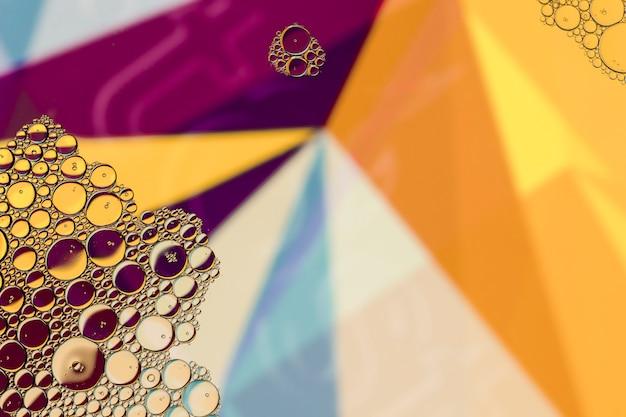 Copie o espaço abstrato colorido