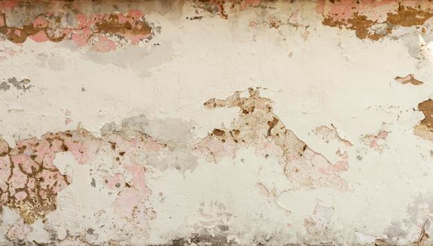 Copie o espaço antigo da parede ao ar livre