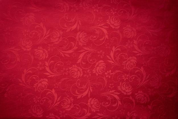 Copie o espaço para o texto no fundo vermelho da textura, conceito do fundo chinês do ano novo.