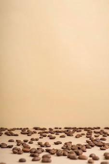 Copie os grãos de café do espaço