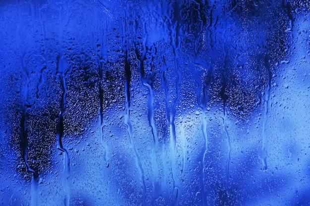 Copo com gotas de água naturais