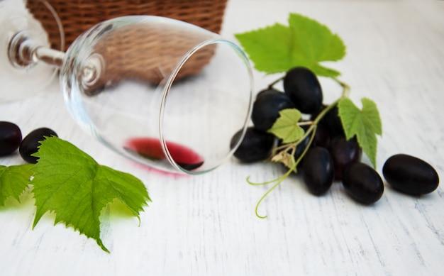 Copo com vinho