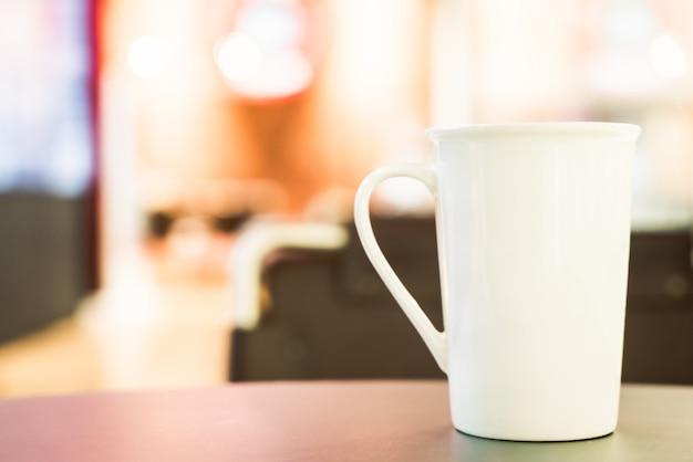 Copo de café branco