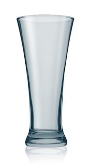 Copo de cerveja vazio