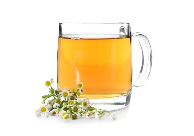 Copo de chá de camomila