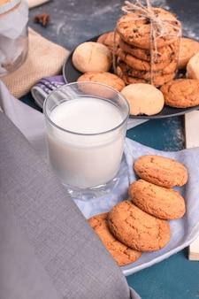 Copo de leite com doces