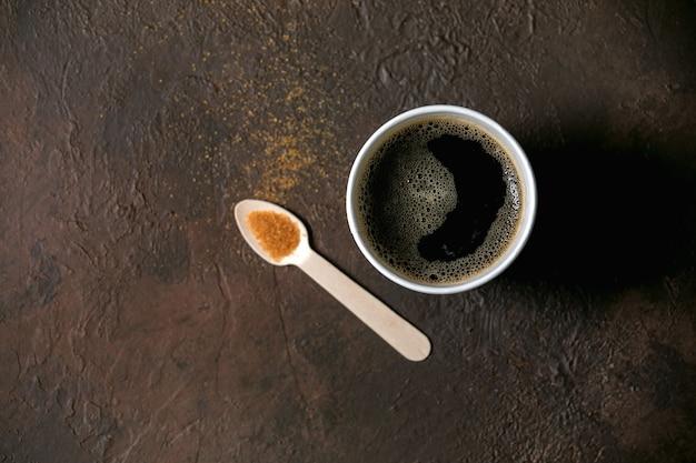 Copo de papel de café americano